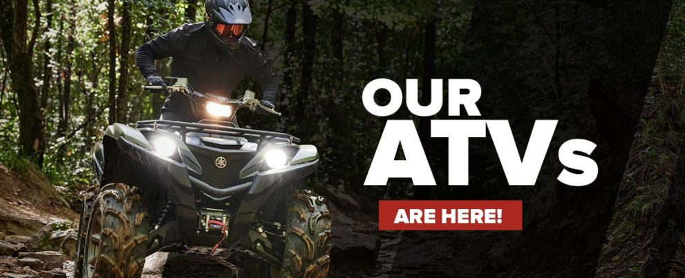 New Yamaha ATVs