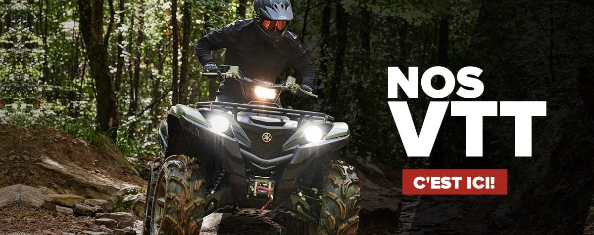 VTT Yamaha neufs