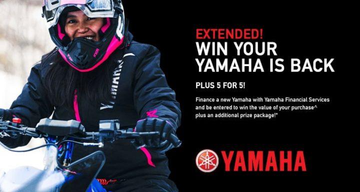 Win your Yamaha!